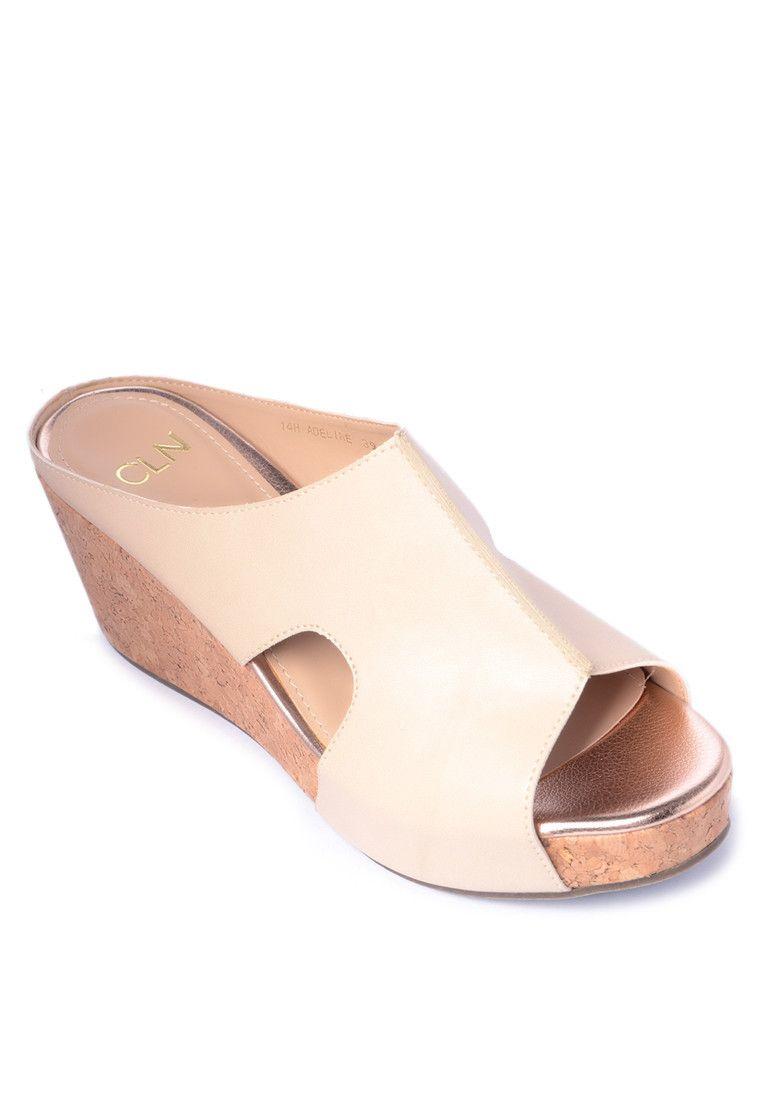 Cln shoes sandals philippines - Adeline Peeptoe Wedge Cln Buy Online At Zalora Ph Phfootwearwedges Sandal