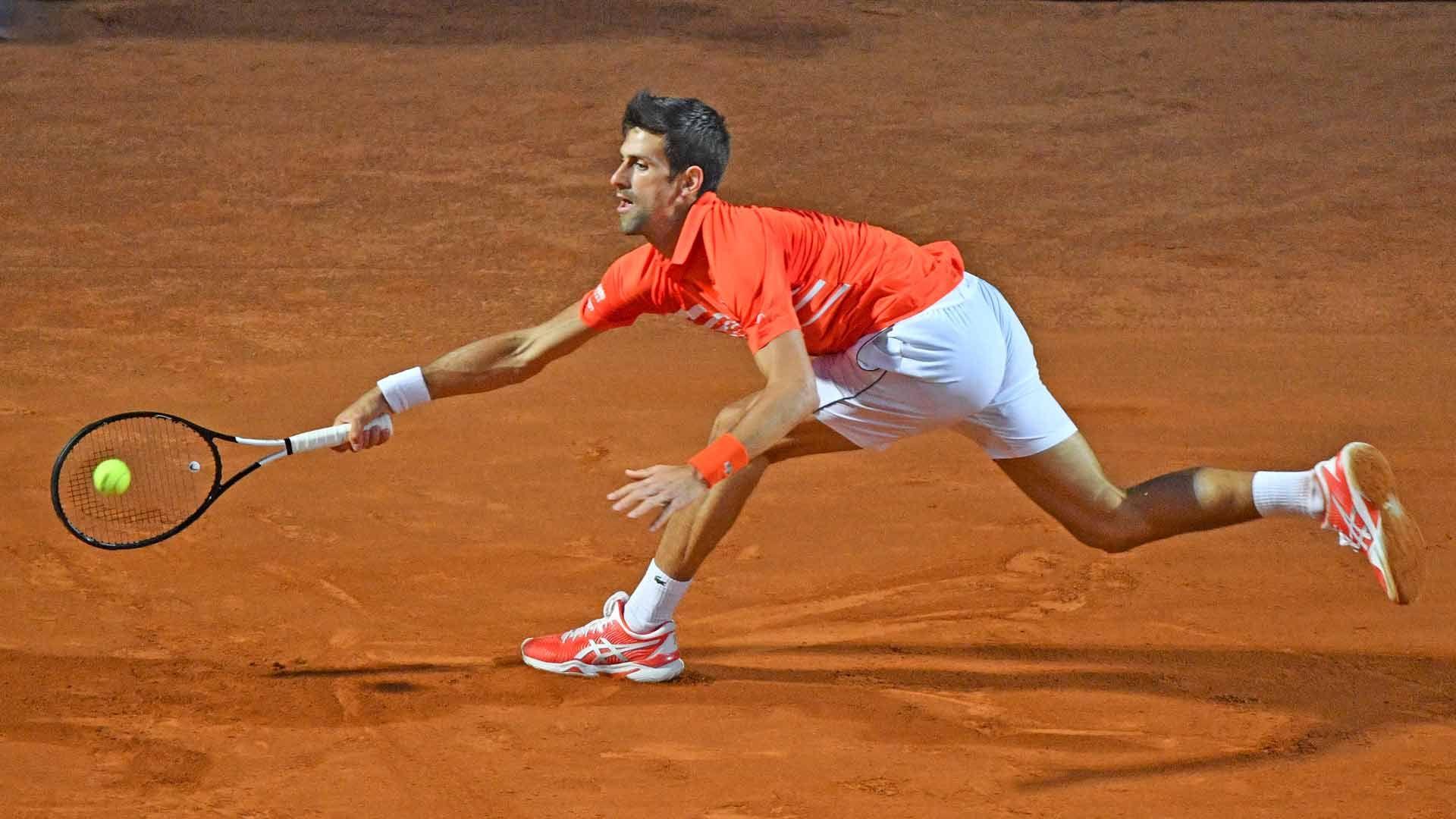 Novak Djokovic Beats Diego Schwartzman In Rome To Setup Final Against Rafael Nadal Atp Tour Con Imagenes