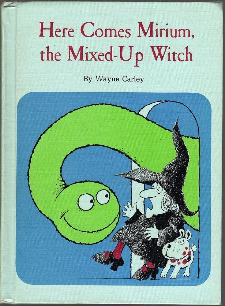 Vintage Childrenu0027s Book ~ HERE COMES MIRIUM, THE MIXED-UP WITCH - copy children's abc coloring pages