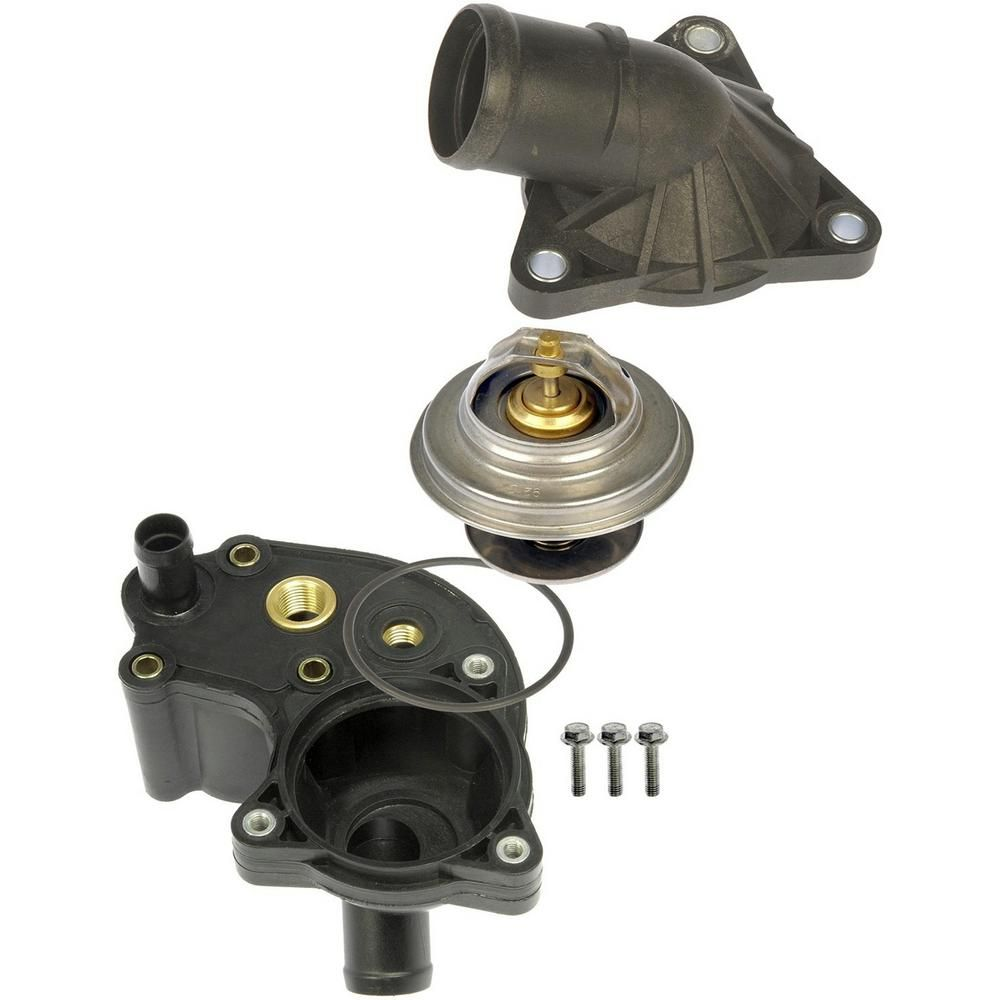 Oe Solutions Engine Coolant Thermostat Housing Assembly 902 204 The Home Depot In 2021 Ford Explorer Thermostat Ford Ranger