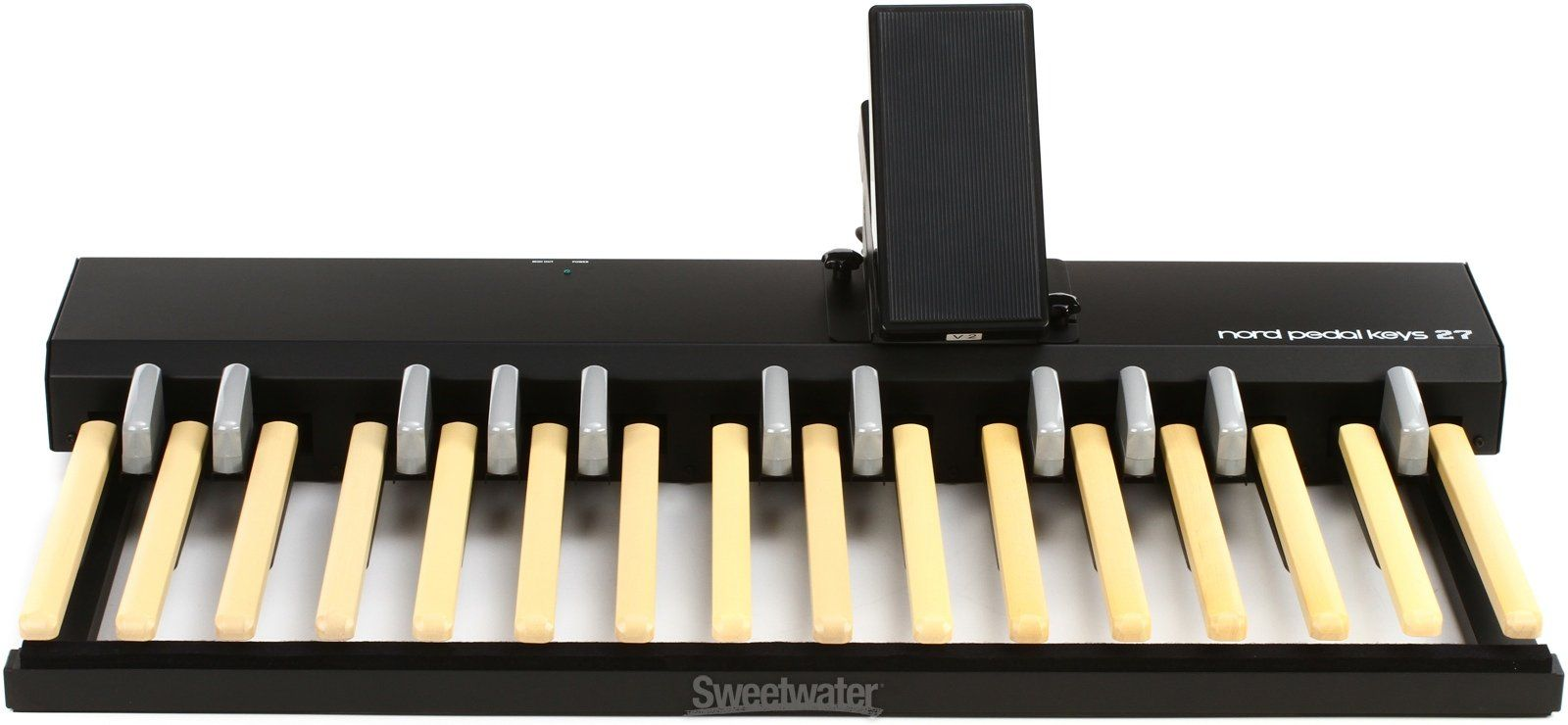 Organ Bass Key MIDI Pedalboard with Swell Controller for the Nord C2