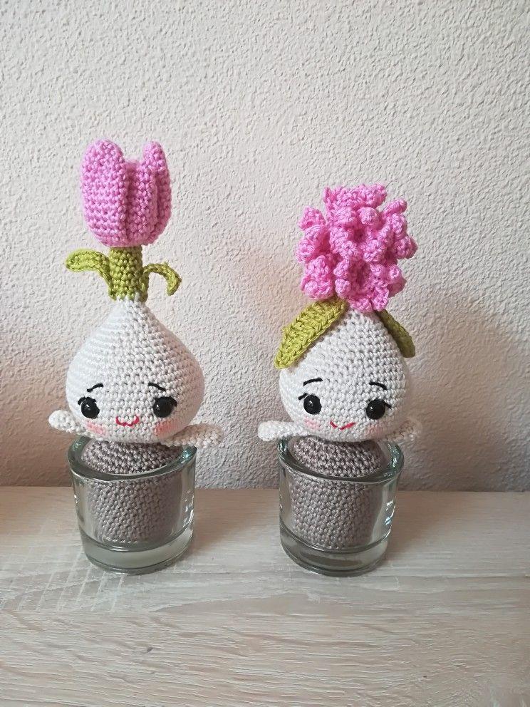 Bloembol Tulp En Hyacint Haken Handmade By Suzanne Pinterest