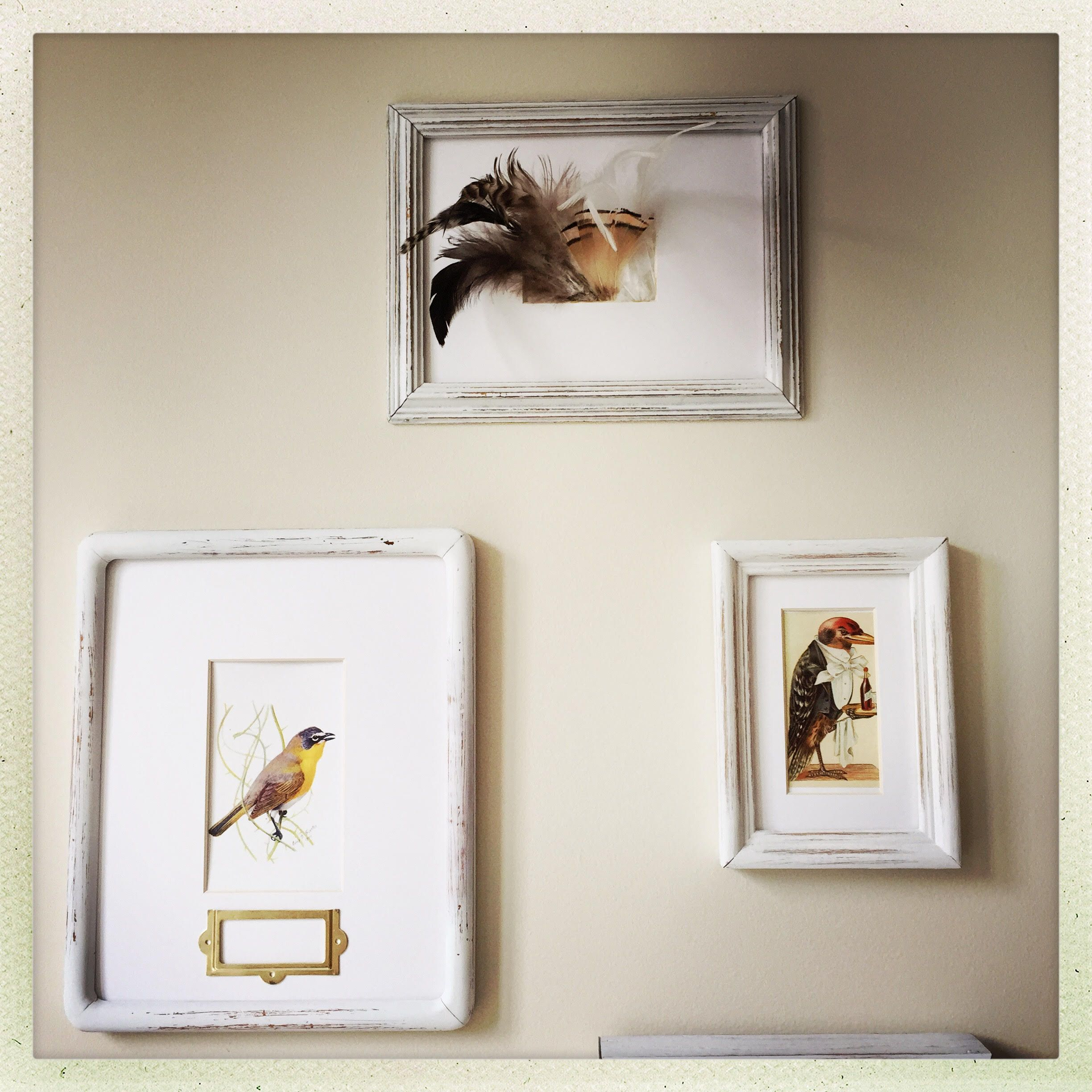 Amanda R shares gorgeous photos of her wall space. Custom mats and ...