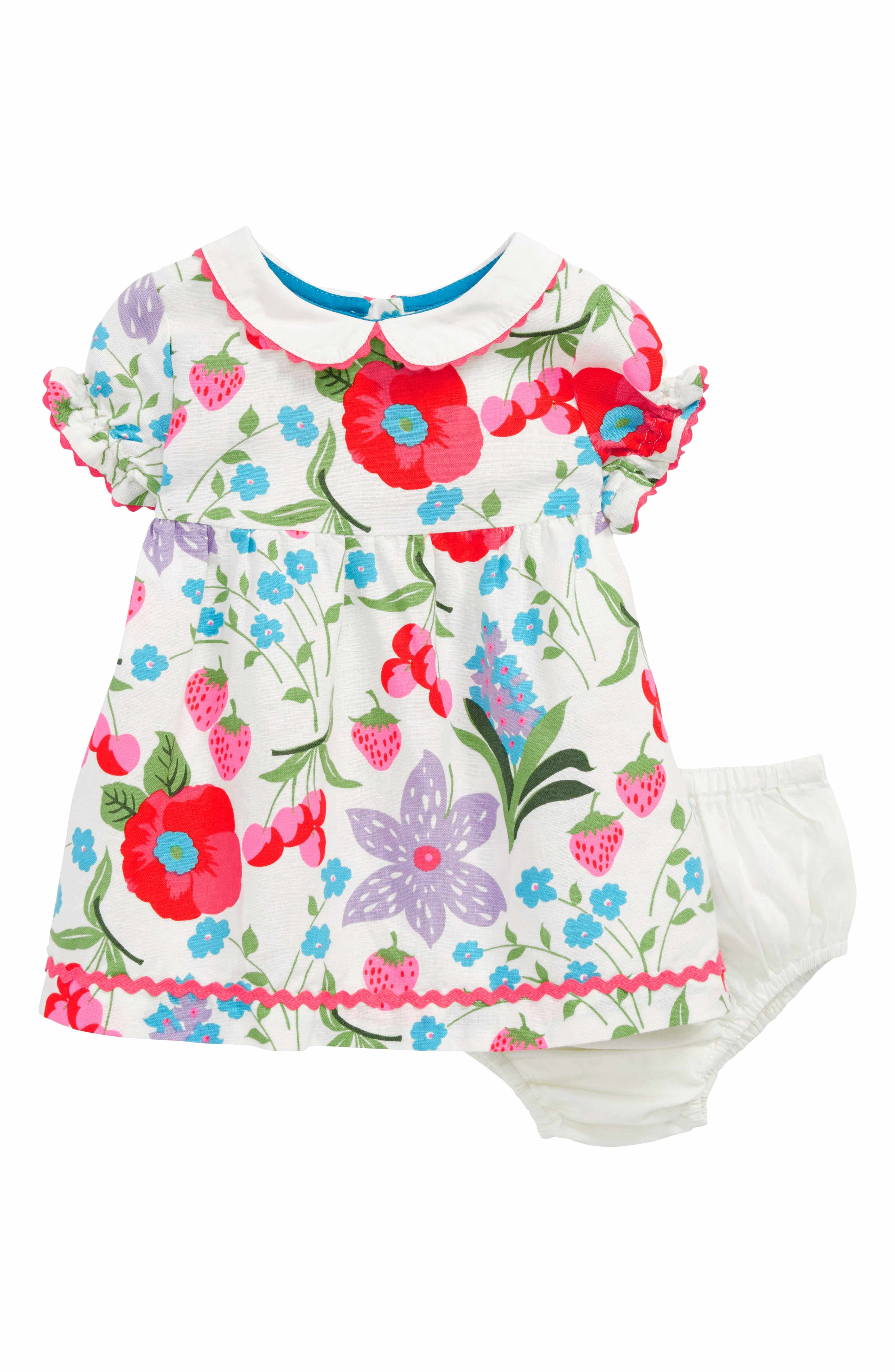 c781e6563 Main Image - Mini Boden Peter Pan Collar Dress (Baby Girls & Toddler Girls)