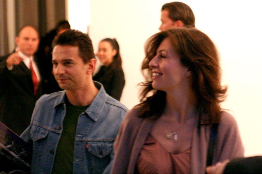 Dave Gahan and Jennifer Sklias-Gahan.