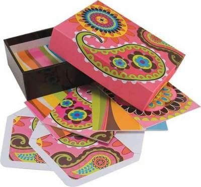 Paisley Note Card