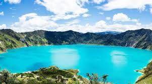 Resultado de imagen para laguna de quilotoa mapa