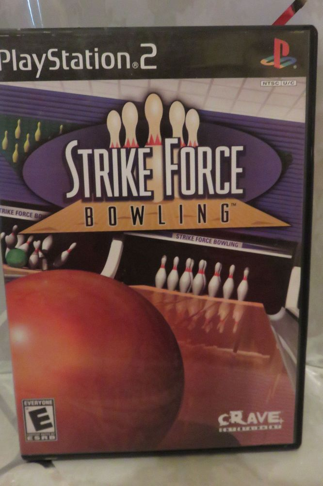 2004 Strike Force Bowling Complete PS2 PlayStation2, Playstation 2 Video Game #PlayStation2