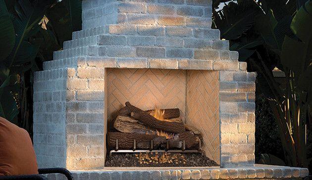 Grand Meridian Modular Masonry Wood Burning Fireplace 33