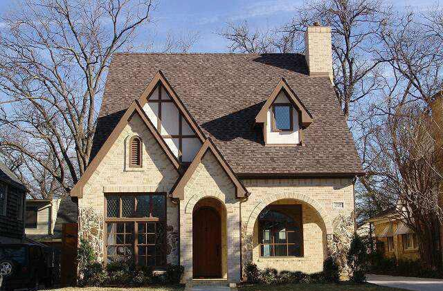 3 or 4 bed tudor for narrow lot 36446tx architectural designs house plans