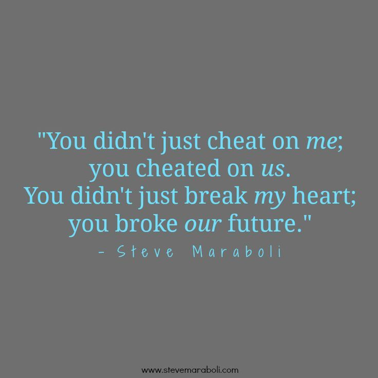 sad quotes about being cheated on