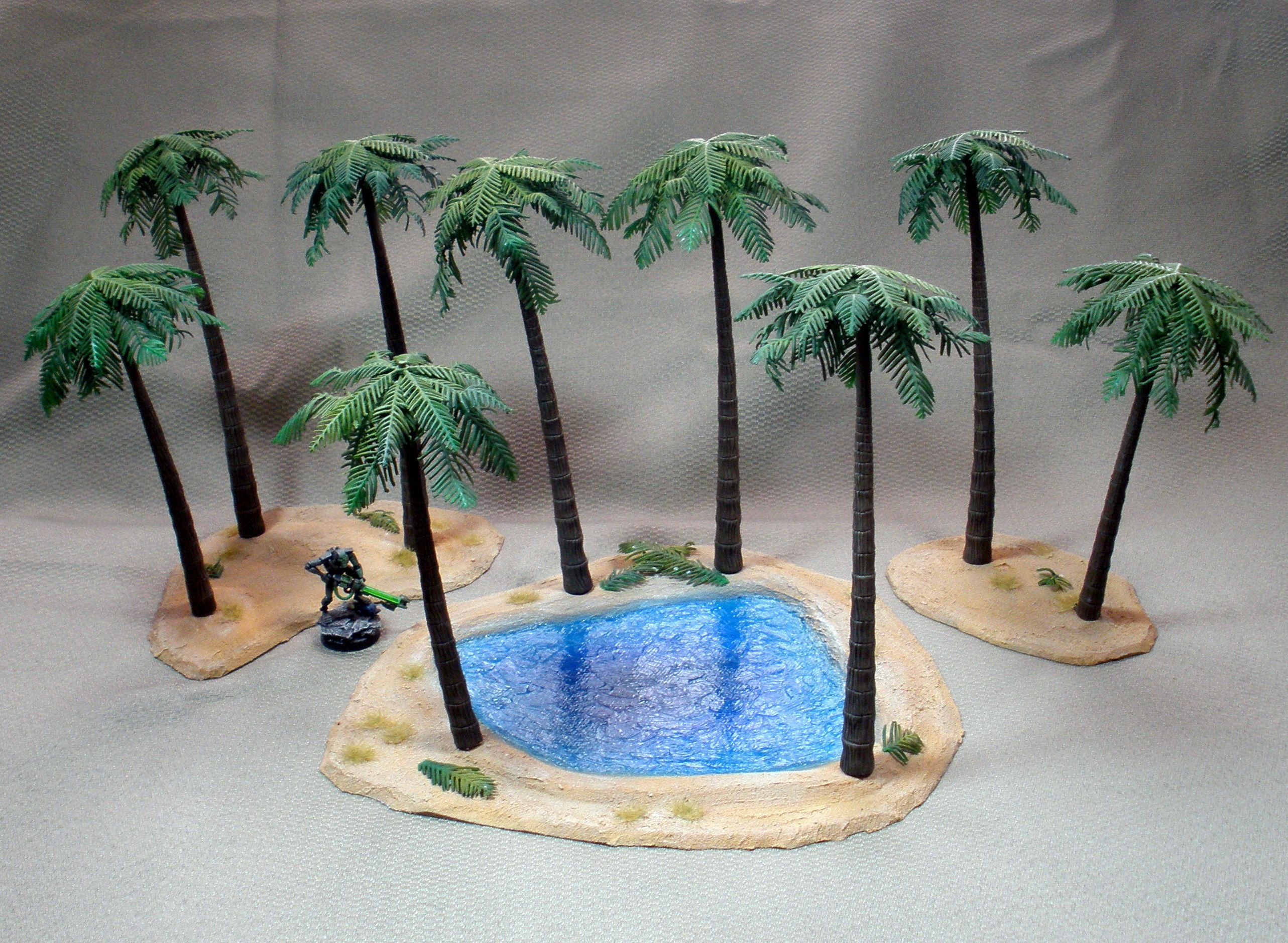 Desert Oasis | Terrain and scenery for miniature wargames ...