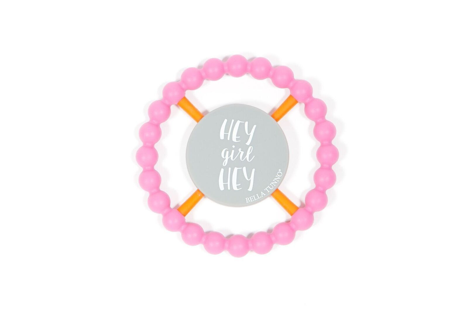 HEY GIRL HEY TEETHER - PINK (With images) | Teethers, Baby ...