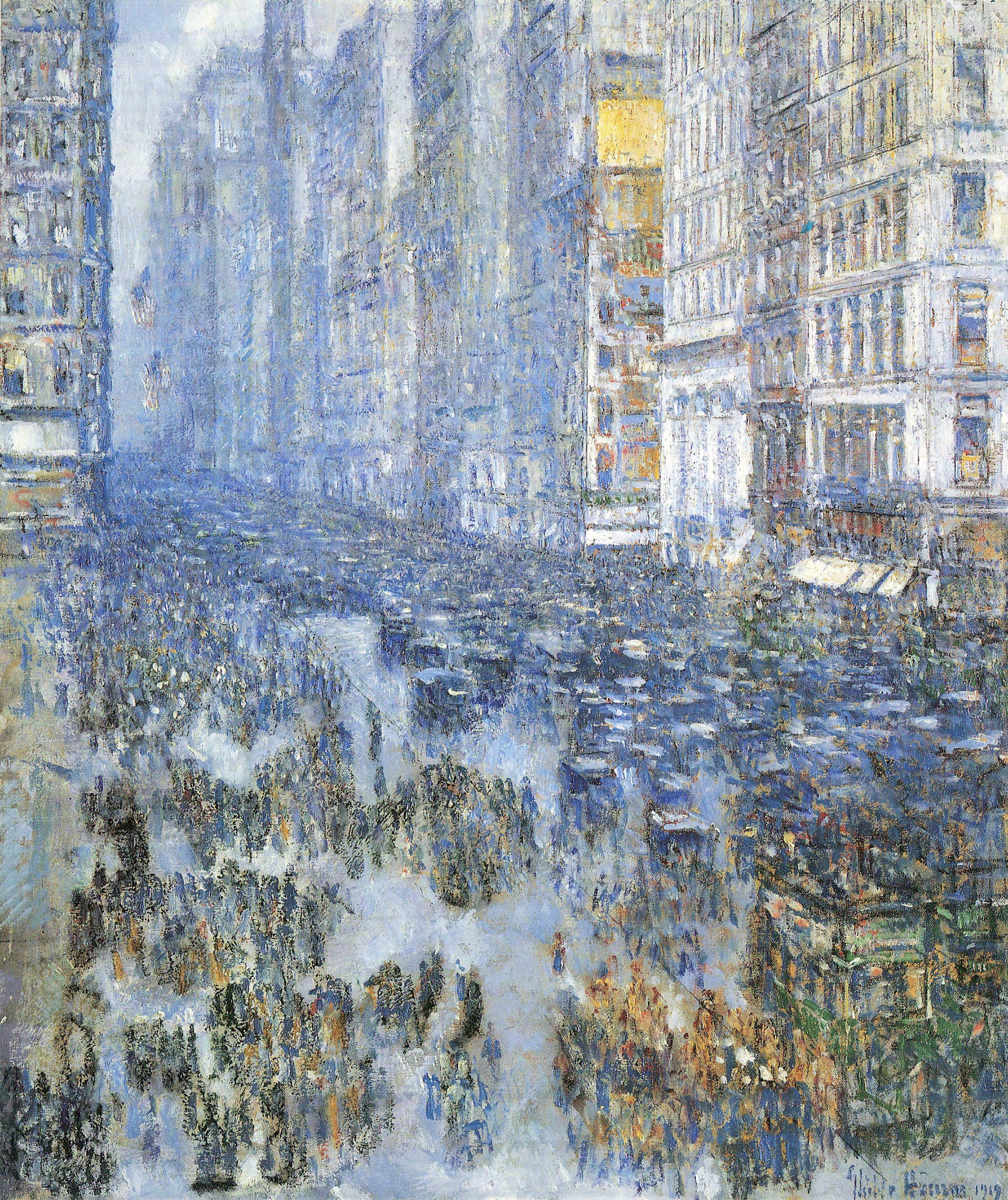 Childe Hassam, Fifth Avenue