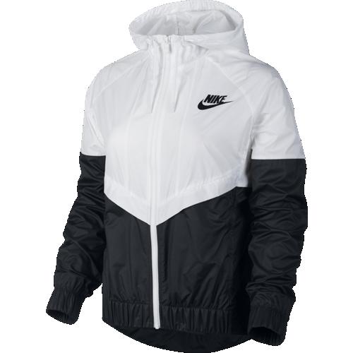 nike windbreaker jacket black and white womens nikes