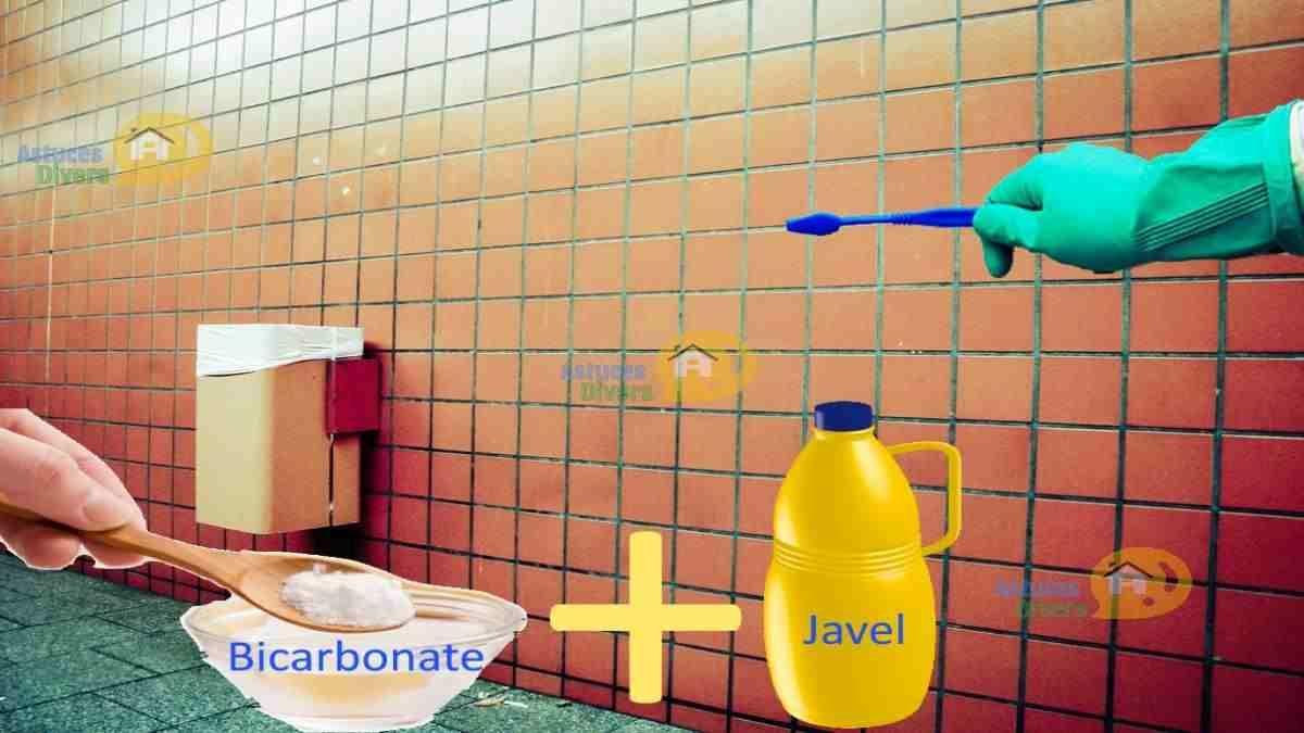 Nettoyer Carrelage Salle De Bain Bicarbonate une astuce pour nettoyer les joints de carrelage et de