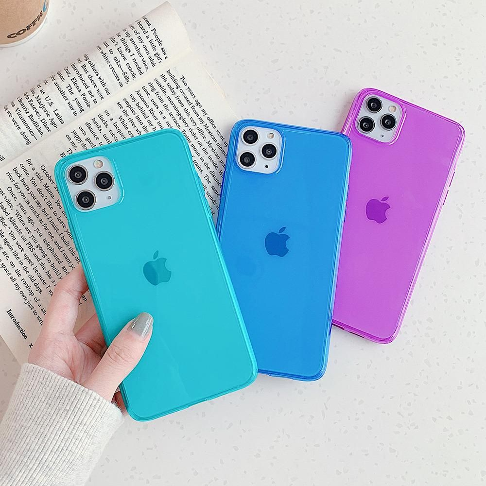 Material: Soft IMD,Quality:High,Style:Cute,Pattern:Fluorescent Solid Color,Color:Green, Rose Red, Orange Type: Fitted Case Design: Plain Features: Solid Color Soft IMD Phone Case Function: Waterproof,Anti-knock,Dirt-resistant Compatible Brand: for iPhones,Compatible iPhone Model:iPhone 7,Compatible iPhone Model:iPhone 7 Plus Compatible iPhone Model: iPhone 8 Plus,Compatible iPhone Model:iPhone 8,Compatible iPhone Model:iPhone X,Compatible iPhone Model:IPHONE XS MAX,Compatible iPhone Model:iPhone
