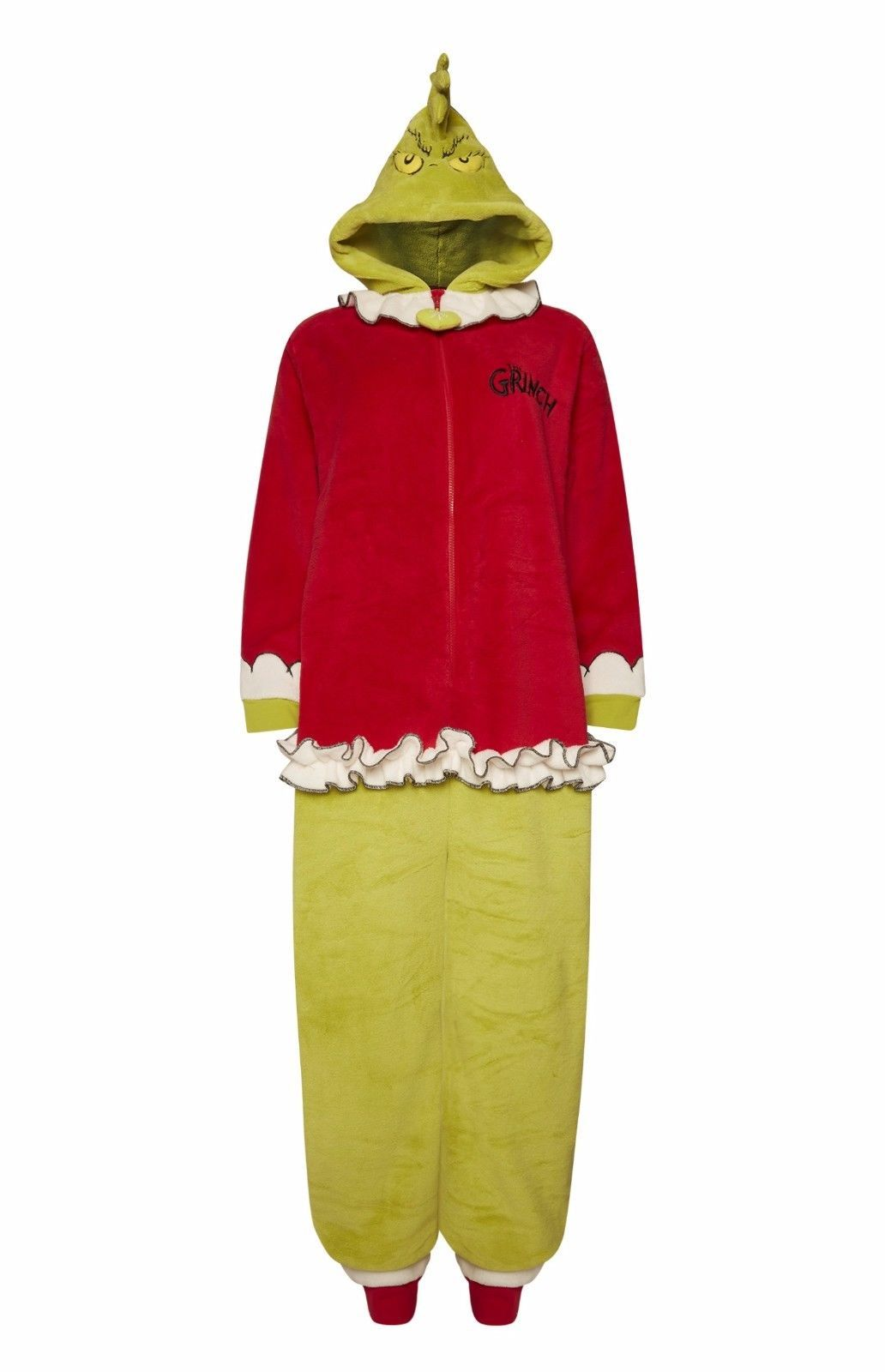 The Grinch Christmas onesie  60d586f51