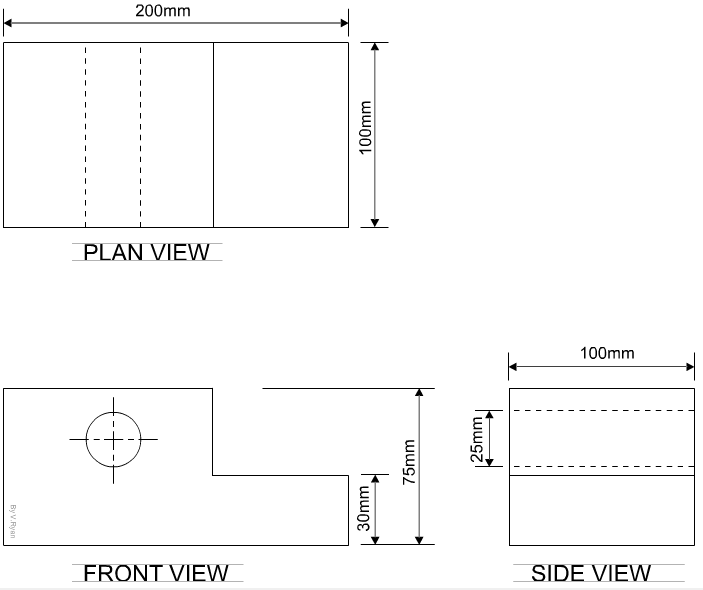 Angle Of Elevation Lesson Plan : Introduction to third angle orthographic projection