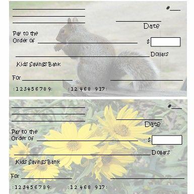 Printable Pretend Checks For Kids Preschool Ideas Pinterestpaw