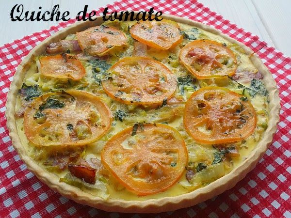 Tartaleta de tomate #aquihaytomateTS ~ No sin mi taper