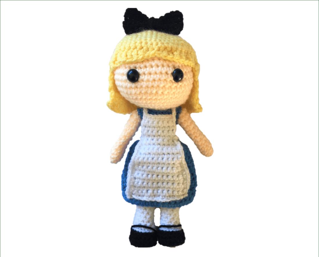Free Alice in Wonderland Amigurumi Pattern (Crochet) | Free Crochet ...