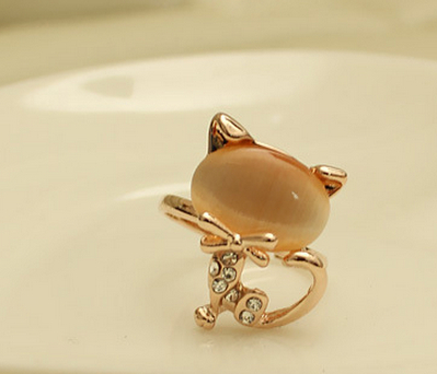Cute Kitty Ring - £1