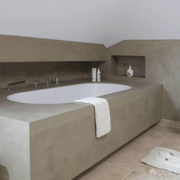 Betonstuc badkamer | Badezimmer | Pinterest
