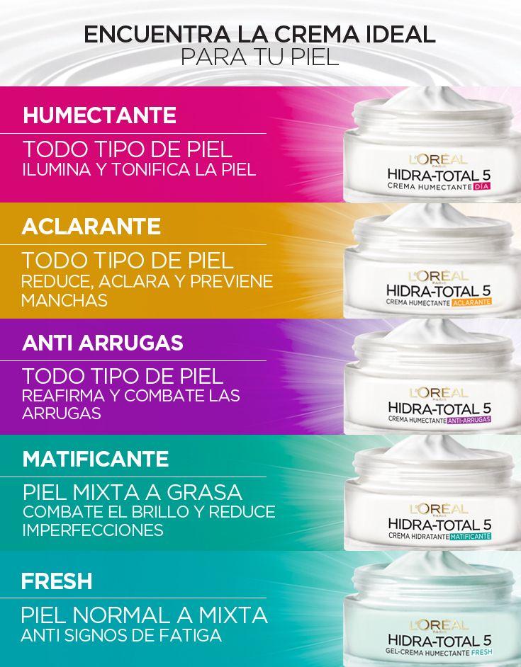 Descubre Cuál Es La Crema Ideal Para Tu Tipo De Piel Y Dale Toda La Hidratación Que Necesita C Hidratante Para Piel Grasa Maquillaje Para Piel Grasa Piel Grasa