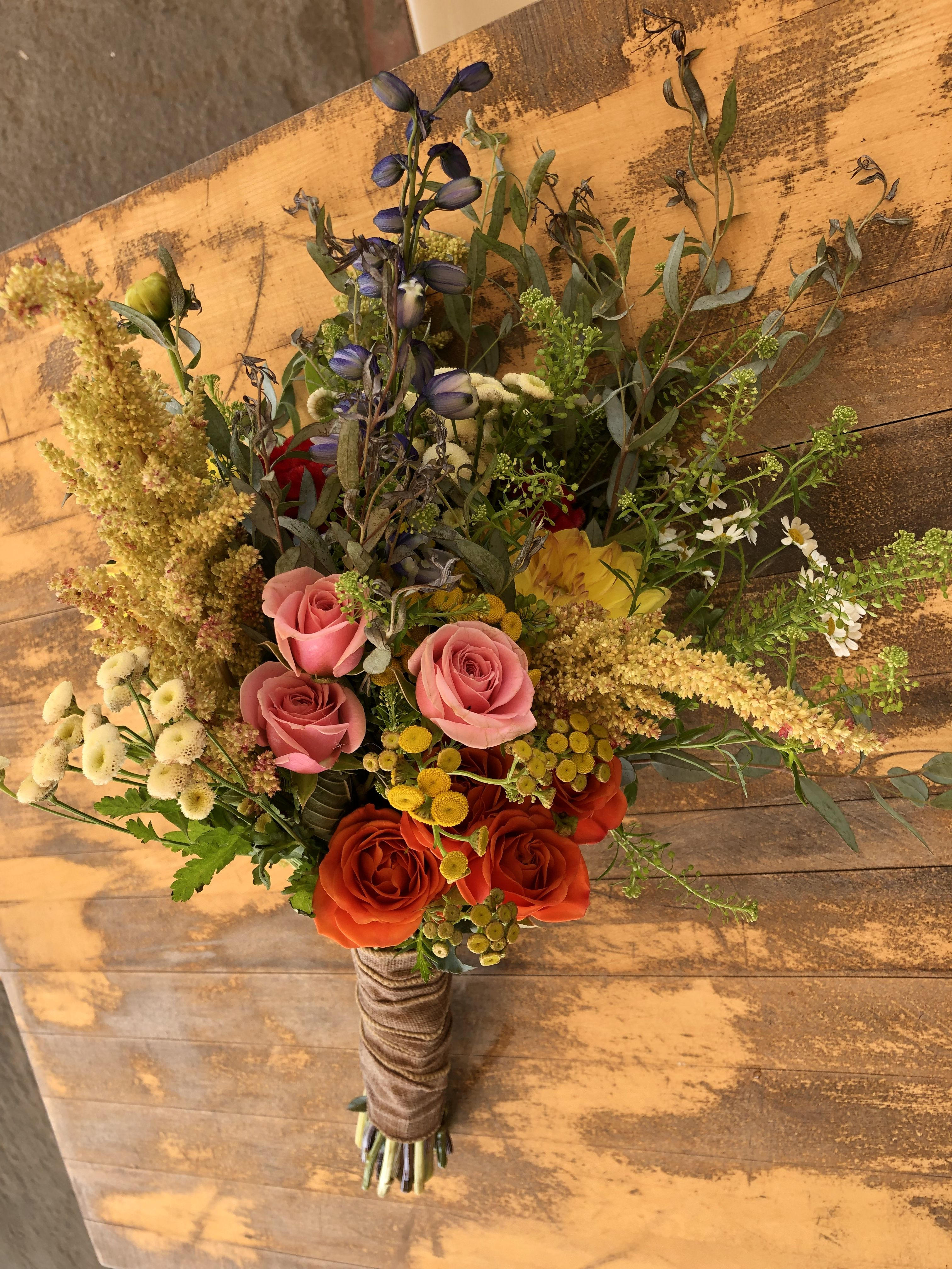 Airy, whispy, summer color. Flower delivery, Fresh