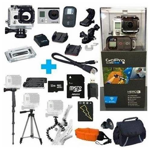 Go Pro Hero3 Silver Camera Dunham S Sports Gopro Video Camera Camcorder