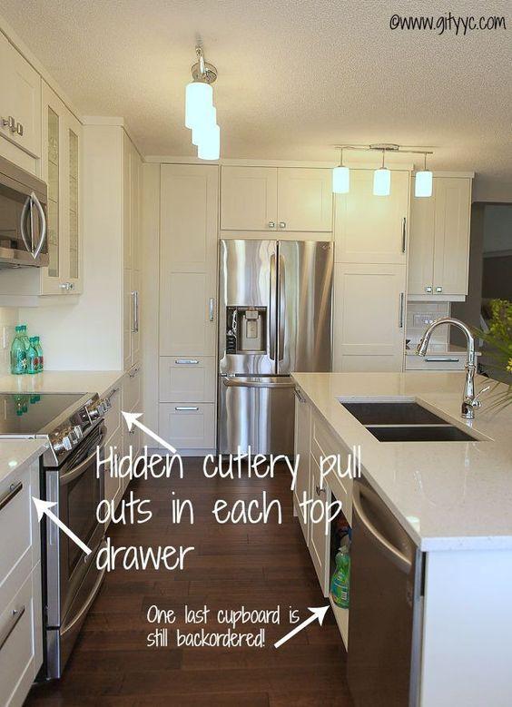 Best Grimslov Ikea Kitchen Nougat Quartz Kitchen 400 x 300