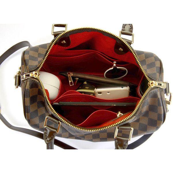 af6caec5c8b8 Leather Bag Organizer for LV Speedy 30