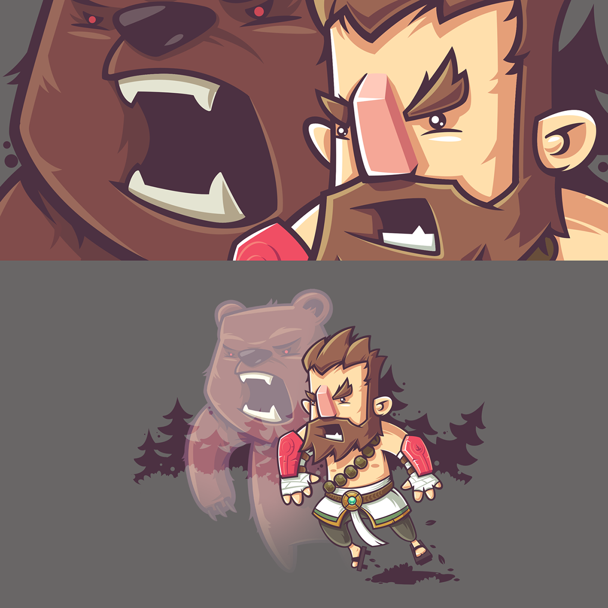 Characters for Curse app. on Behance Character design
