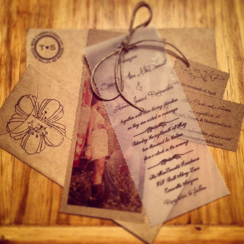 Rustic Wedding Invitations | Invitation | Pinterest | Weddings ...