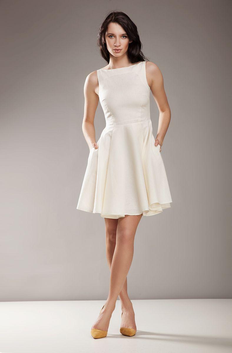 Rozkloszowana Sukienka Audrey Wesele S17 S 36 3939277152 Oficjalne Archiwum Allegro Fit Flare Dress Flare Dress Zulily Dresses