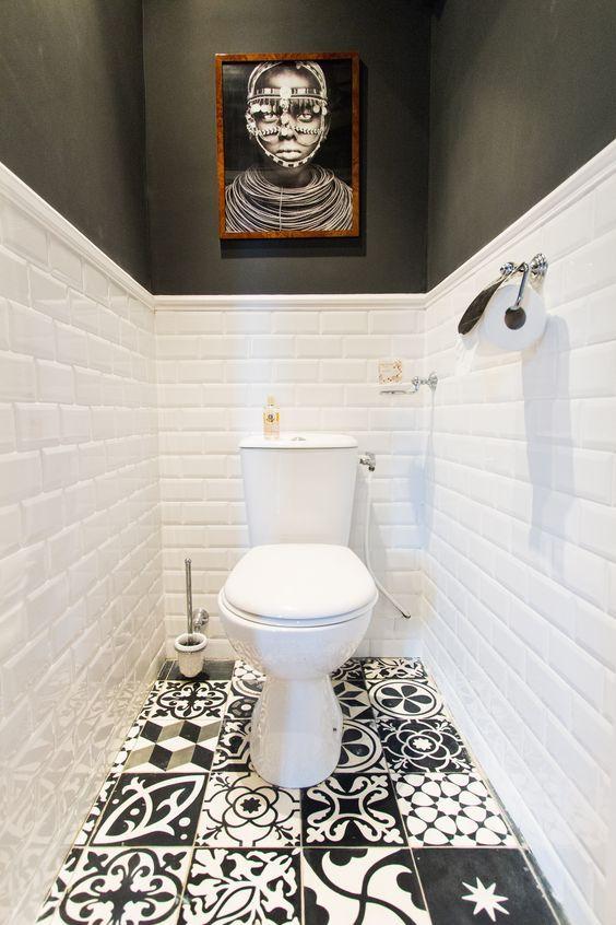 Baños con azulejos hidráulicos, inspiración Baños decorados con