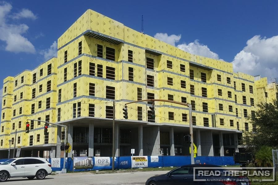 Construction on The Renaissance at West River Tampa, FL