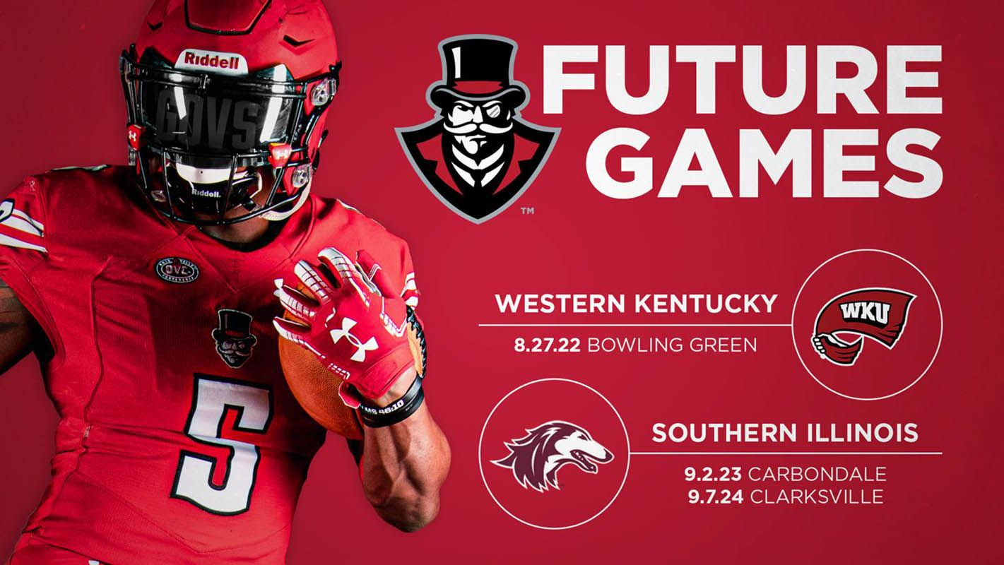 Apsu football announces additions to 2022 2023 and 2024