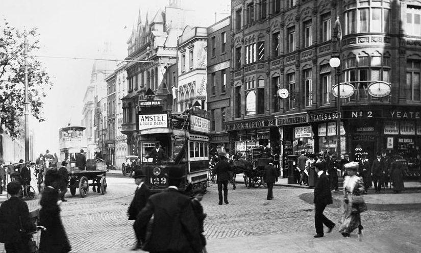 Junction Of Nassau Street And Grafton Street C 1910 Grafton Street Dublin Ireland Pictures Dublin Street
