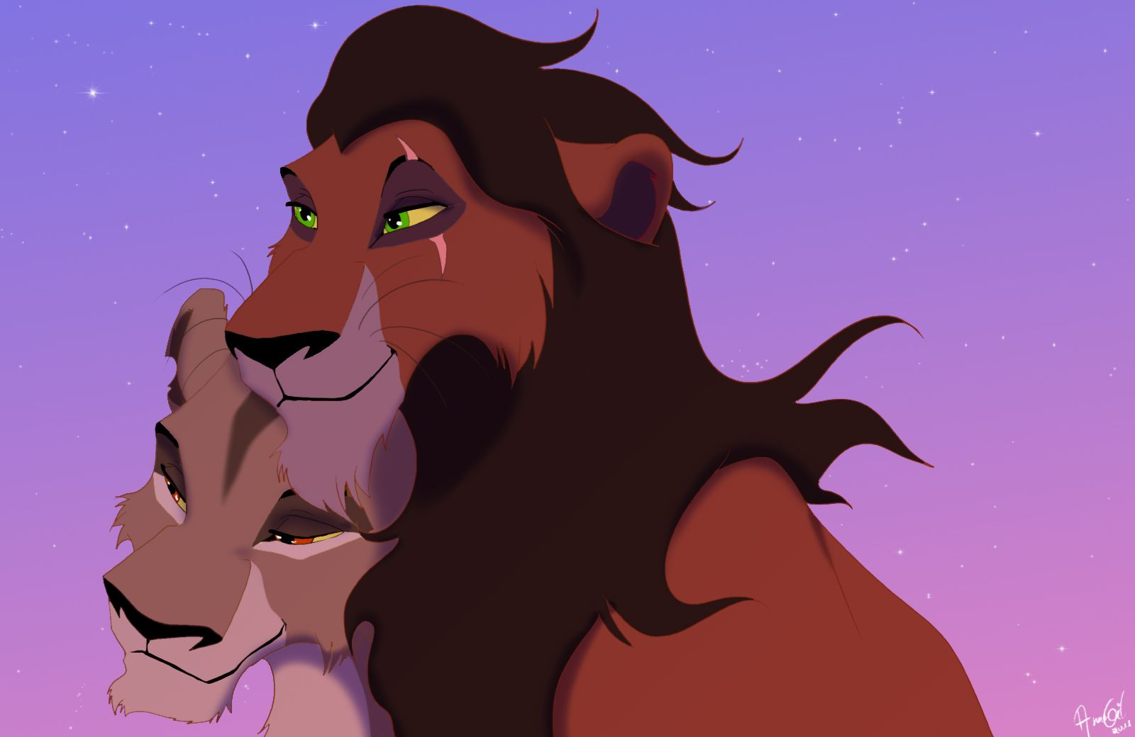 Lion king couples images nuka and spotty hd wallpaper and