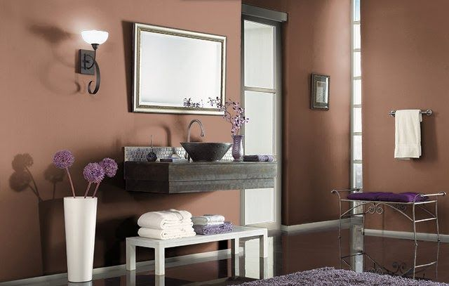 Earth Tone Paint Colors For Bathroom