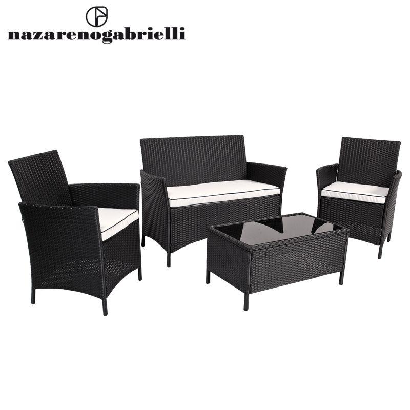 www.sconticasa.it Set sofà Happy con struttura in acciaio