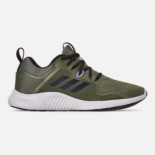 68f69bb81 Right view of Women s adidas Edge Bounce Running Shoes in Base Green  Black Pink White