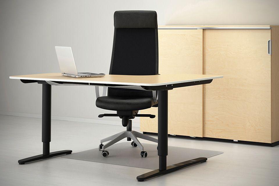 ikea bekant sit stand desks 1 startup space inspiration sit stand desk ikea bekant best. Black Bedroom Furniture Sets. Home Design Ideas
