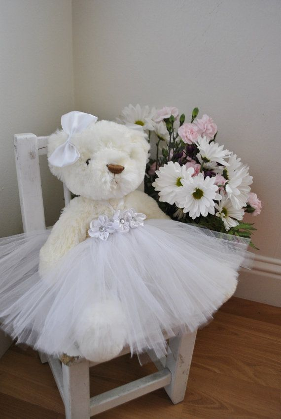flower girl my sweet teddy with by oursweetsomethings4u