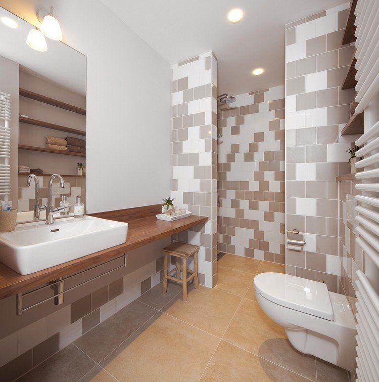 Luminaire salle de bains et aménagement en 53 idées cool!
