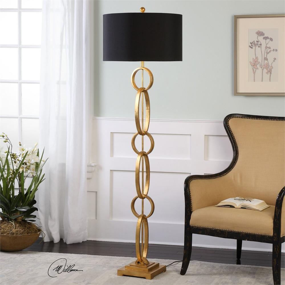 Lovell Gold Floor Lamp URBAN LIVING in 2019 Gold floor