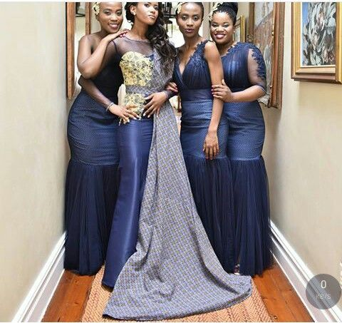356753dfa0170 Shweshwe Traditional Wedding Dresses For South African 2019 shweshwe  traditional wedding dresses are no-nonsense, and each year designers create  the most