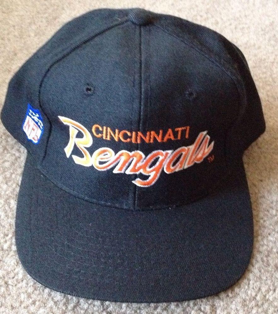 timeless design e1459 a9746 Vintage NFL Cincinnati Bengals VTG Sports Specialties Snapback Hat Cap NWOT   SportsSpecialties  CincinnatiBengals